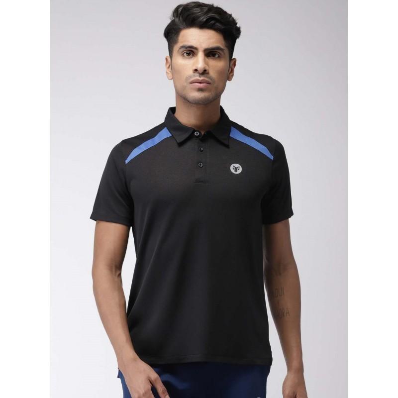 2GO Men Sports T-shirt Bold Black (EL-GTS366-S9)