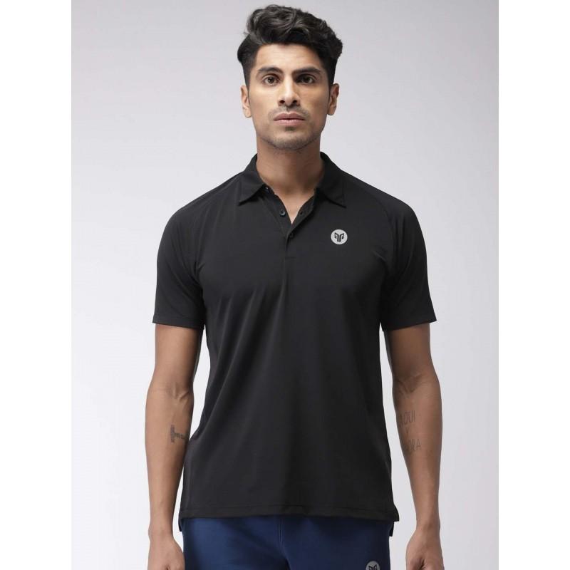 2GO Men Sports T-Shirt Bold Black (EL-GTS365-S9)