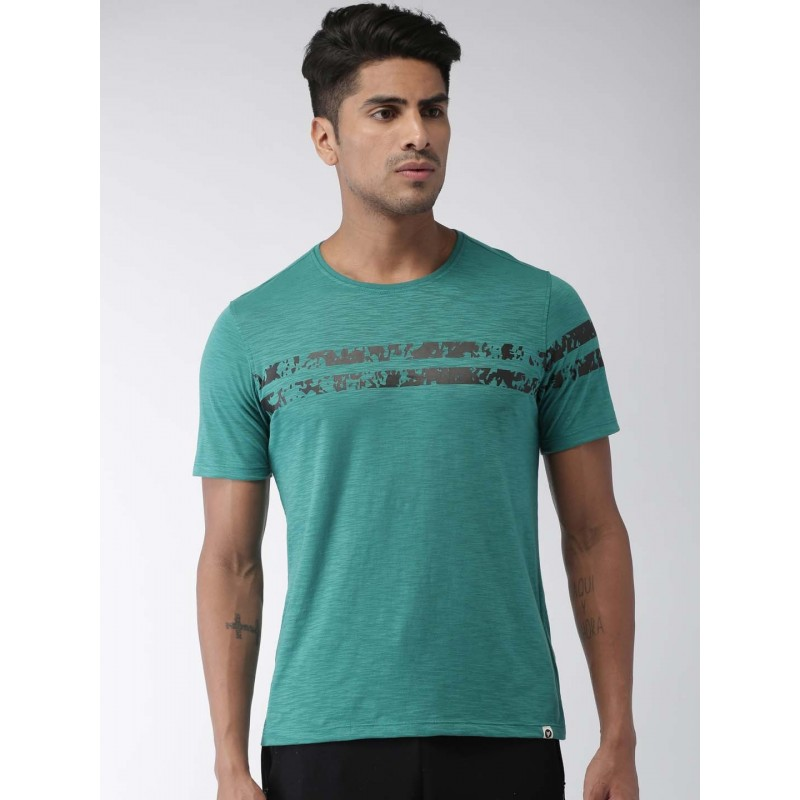 2GO Men Essential T-Shirt Forest Green (EL-GTS372-S9)