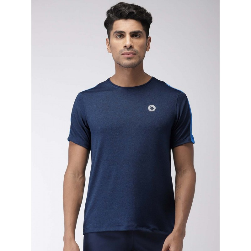 2GO Men Sports T-Shirt Prussian Blue (EL-GTS364-S9)