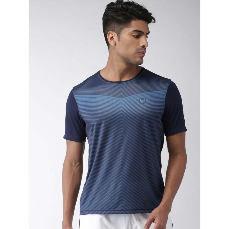 2GO Men Essential T-Shirt Prussian Blue (EL-GTS375-S9)