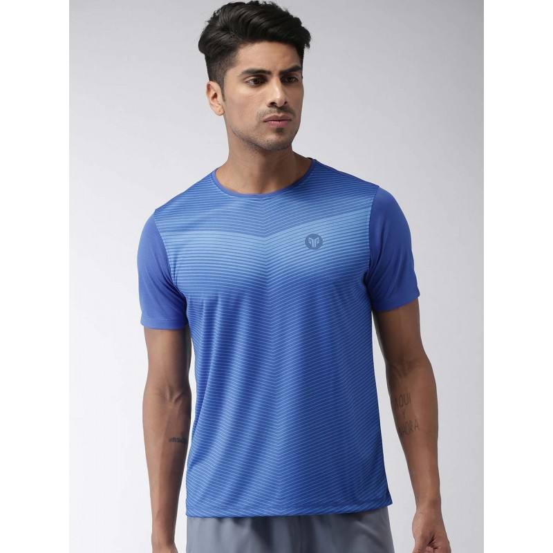 2GO Men Essential T-Shirt Sapphire Blue (EL-GTS375-S9)