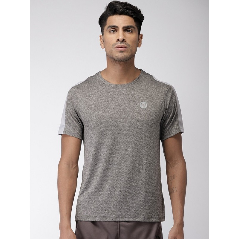 2GO Men Sports T-Shirt Shark Grey (EL-GTS364-S9)