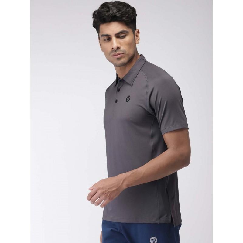 2GO Men Sports T-Shirt Shark Grey (EL-GTS365-S9)