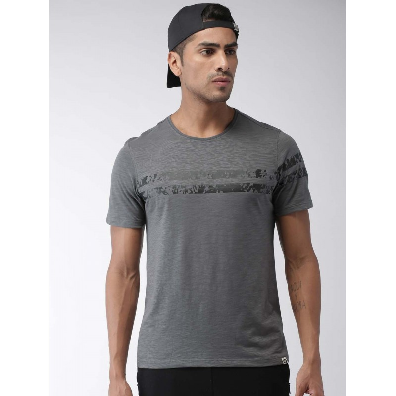 2GO Men Essential T-Shirt Shark Grey (EL-GTS372-S9)