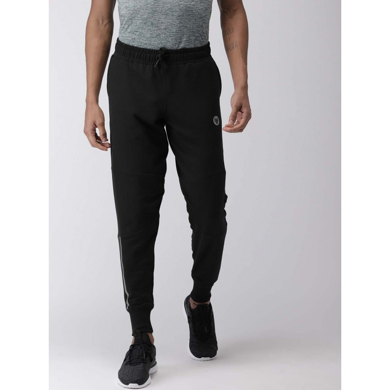 2GO Men Yoga Track Pants Bold Black (EL-GTP392-S9)