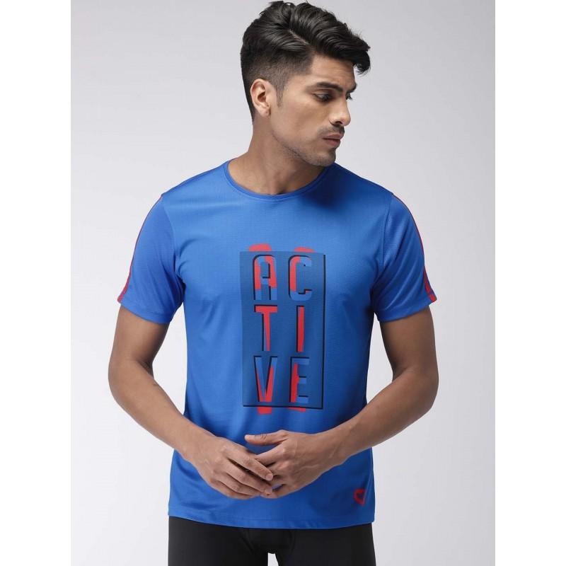 2GO Men Training T-Shirt Sapphire Blue (EL-GTS363-S9)