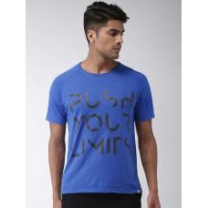 2GO Men Yoga T-Shirt Sapphire  Blue (EL-GTS369-S9)