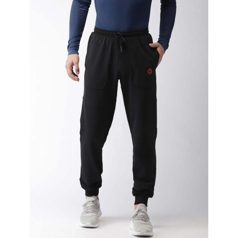 2GO Men Yoga Track Pants Bold Black (EL-GTP279-A8)