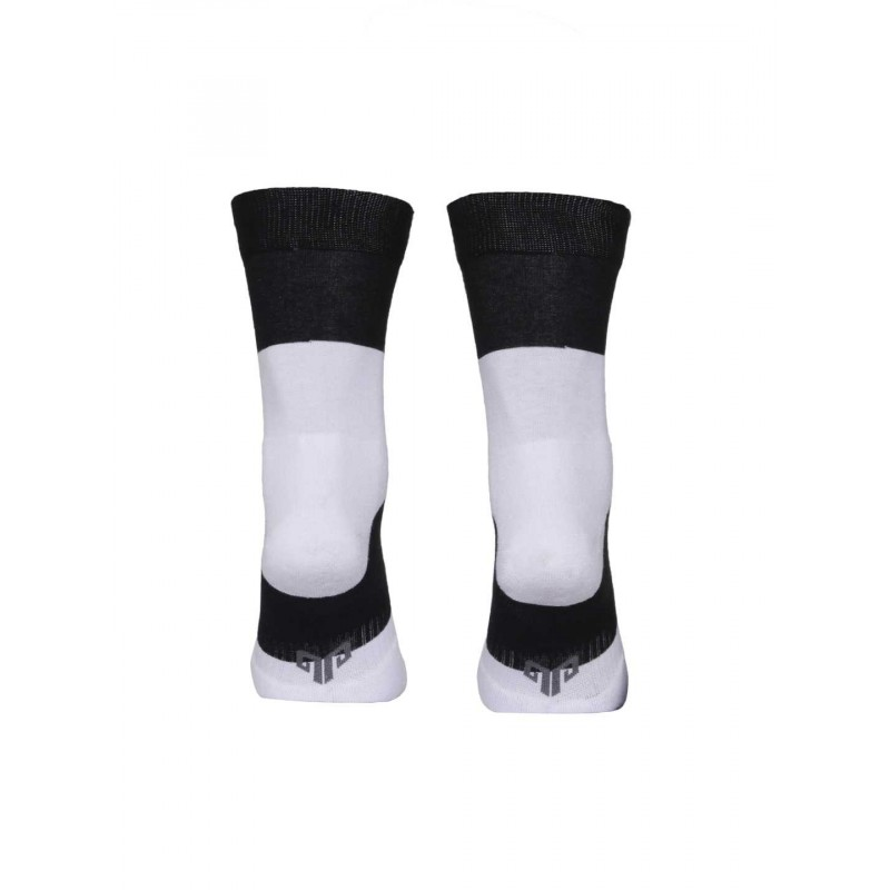2GO Pull Up Cycling Socks Black White