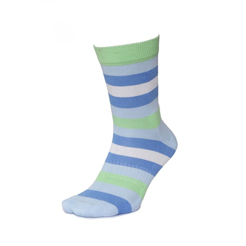 2GO Pull Up Length Cycling Socks Blue