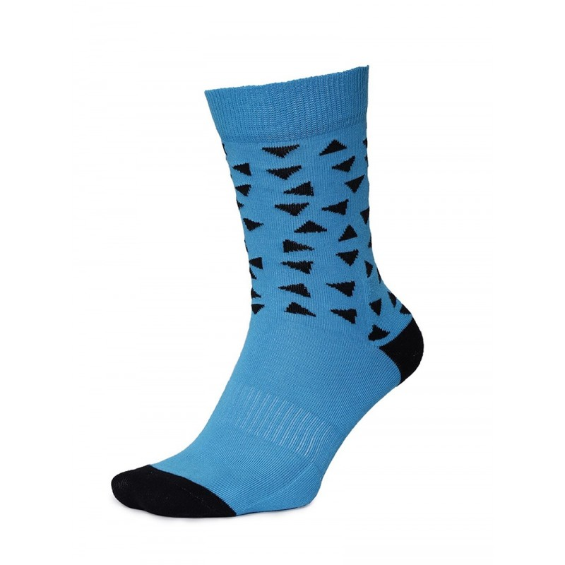 2GO Pull Up Length Cycling Socks Turquoise Blue