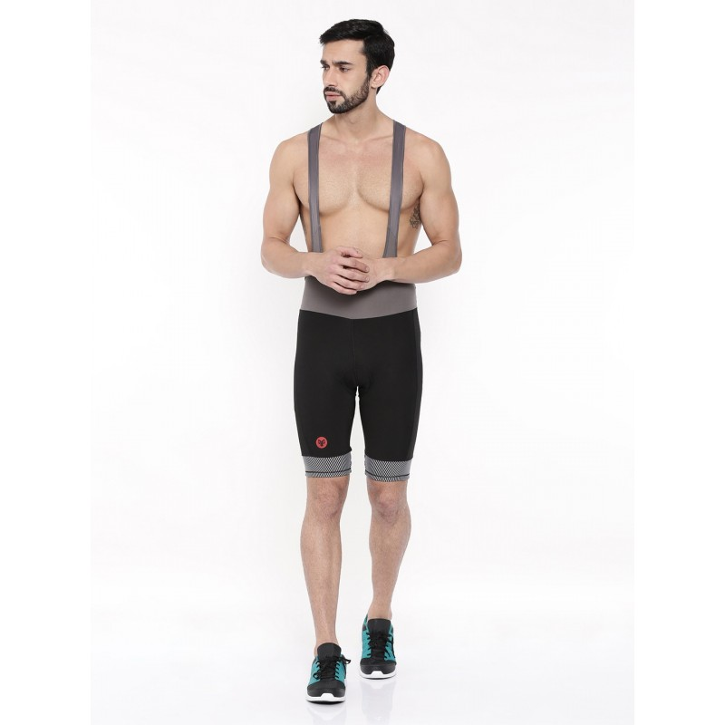 2GO Men Cycling Bib Shorts Black (GCBSH-003)