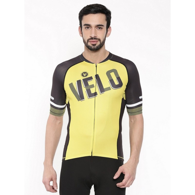 2GO Velo Love Men Cycling Jersey Celery