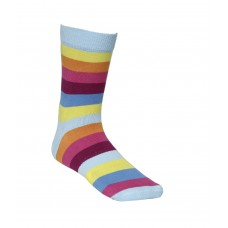 2GO Pull Up Cycling Socks Light Blue