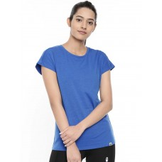 2GO Women Cotton Rich T-Shirt Sapphire Blue (EL-WTS418-A9)