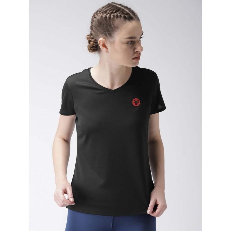 2GO Women Essential T-Shirt Bold Black (EL-WTS222-A8)