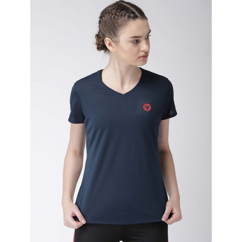 2GO Women Essential T-Shirt Prussian Blue (EL-WTS222-A8)