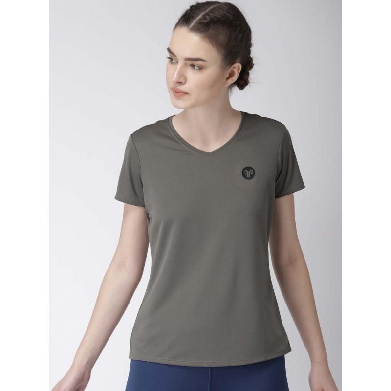 2GO Women Essential T-Shirt Shark Grey (EL-WTS222-A8)