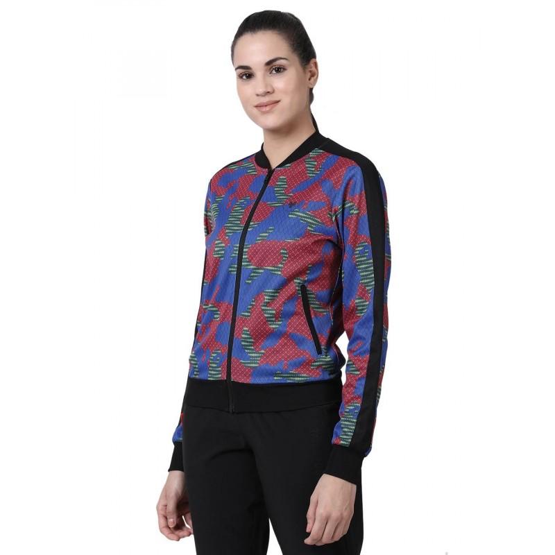 2GO Women Fashion Jacket Camo Blue (EL-WJK482-A9)