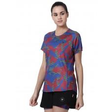 2GO Women Fashion T-shirt Camo Blue (EL-WTS475-A9)