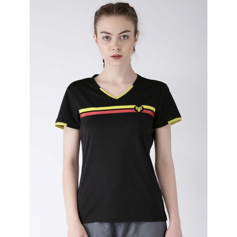 2GO Women Multi-Sport T-Shirt Bold Black (EL-WTS219-A8)