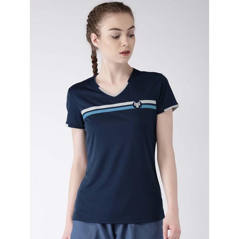 2GO Women Multi-Sport T-Shirt Prussian Blue (EL-WTS219-A8)