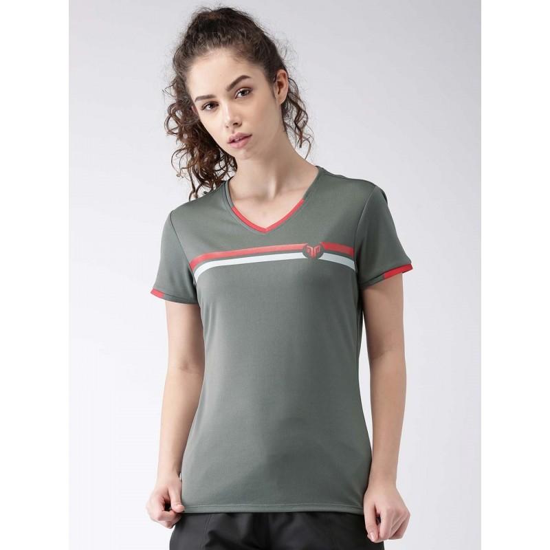 2GO Women Multi-Sport T-Shirt Shark Grey (EL-WTS219-A8)