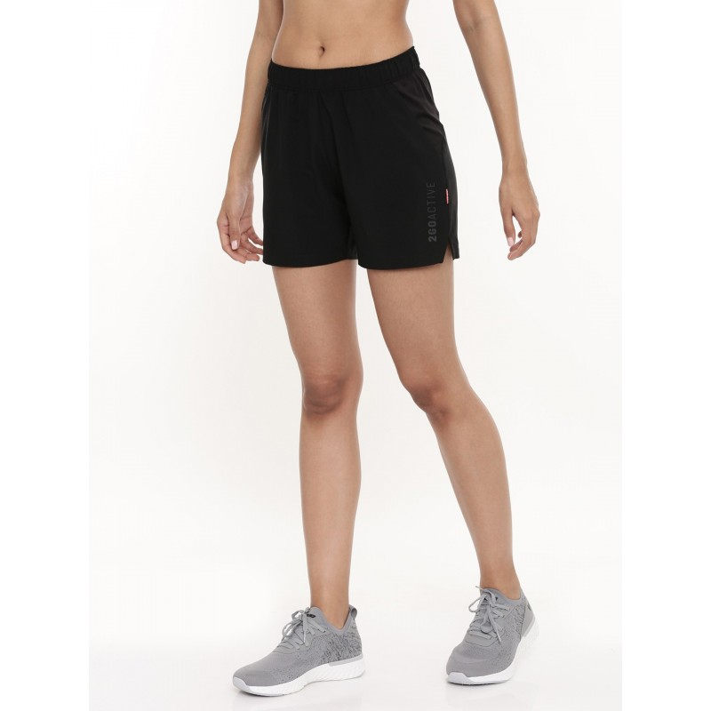 2GO Women Running Shorts Black (EL-WSH442-A9)