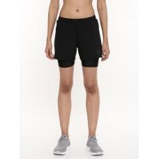 2GO Women Running Shorts Black (EL-WSH443-A9)