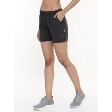2GO Women Running Shorts Charcoal (EL-WSH442-A9)