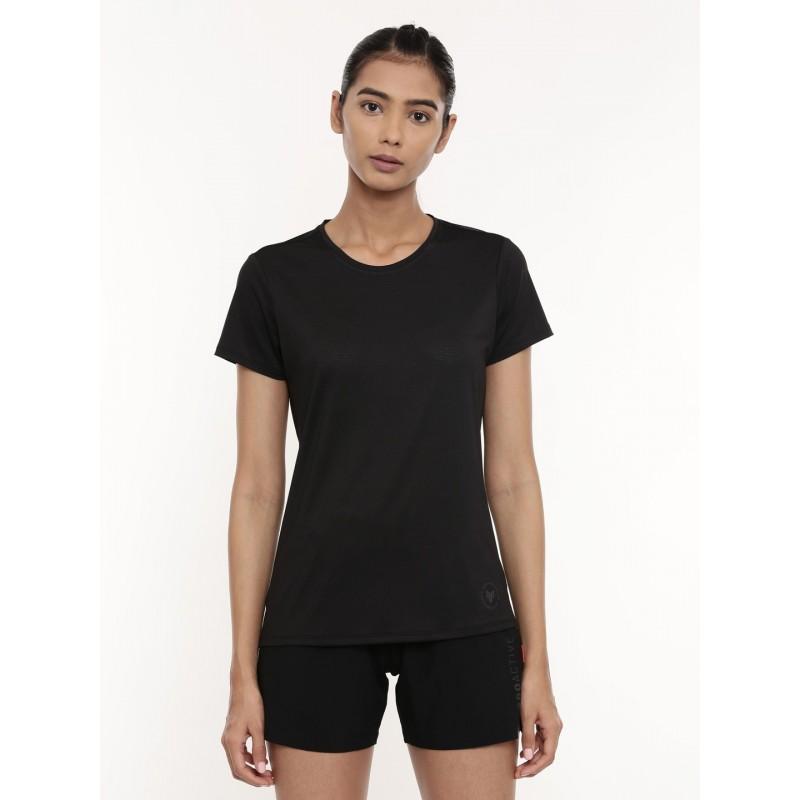 2GO Women Running T-shirt Black (EL-WTS435-A9)