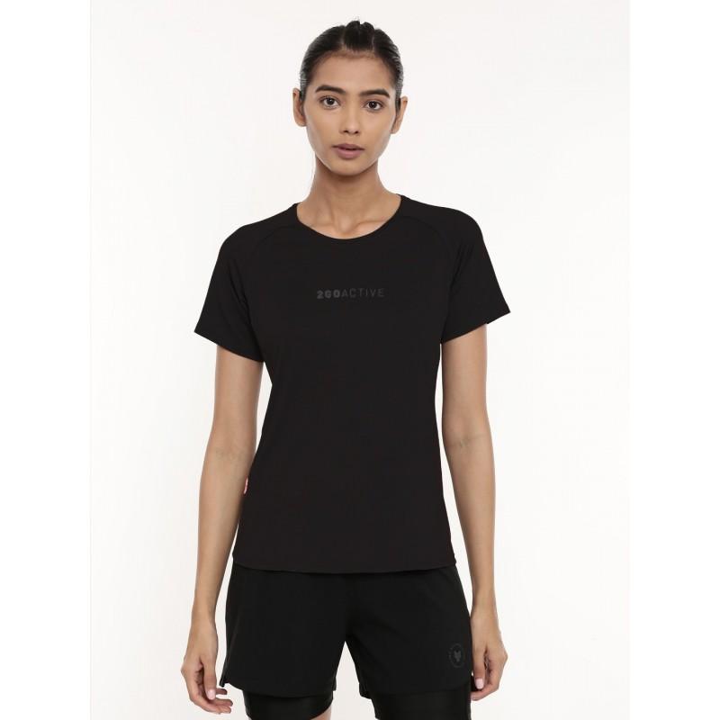 2GO Women Running T-shirt Black (EL-WTS436-A9)