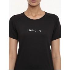 2GO Women Running T-shirt Black (EL-WTS452-A9)