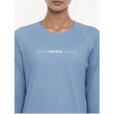 2GO Women Running T-shirt Blue (EL-WTS437-A9)