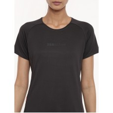 2GO Women Running T-shirt Charcoal (EL-WTS436-A9)