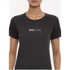 2GO Women Running T-shirt Charcoal (EL-WTS452-A9)