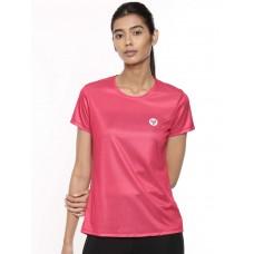 2GO Women Running T-Shirt Fuchsia (EL-WTS335-A9)