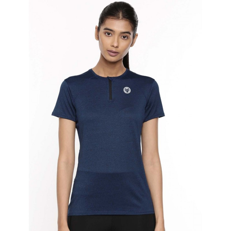 2GO Women Running T-Shirt Prussian Blue (EL-WTS314-A9)