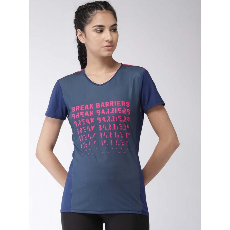 2GO Women Running T-shirt Prussian Blue (EL-WTS336-S9)