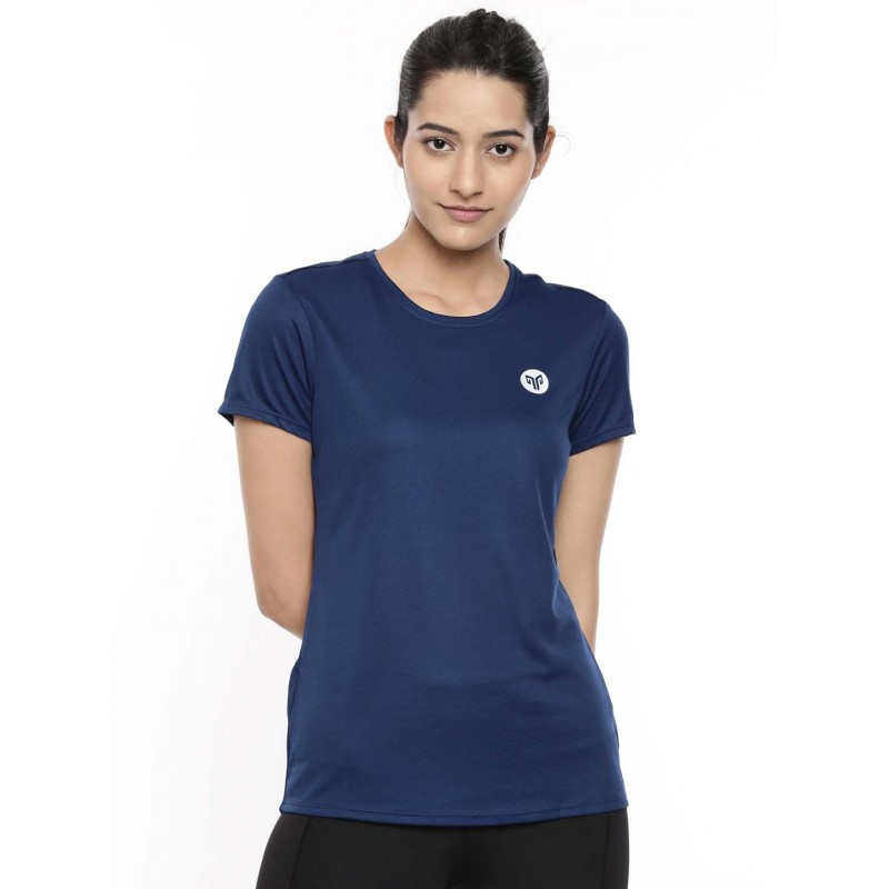 2GO Women Running T-Shirt Prussian Blue (EL-WTS337-A9)