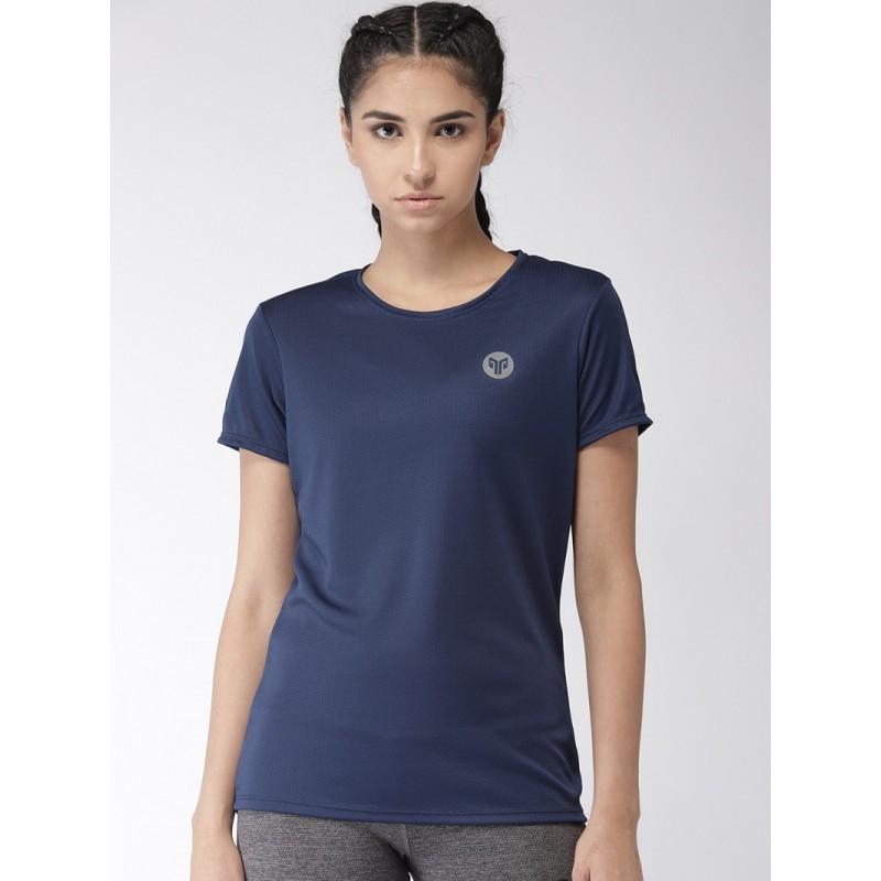 2GO Women Running T-Shirt Prussian Blue (EL-WTS337-S9)