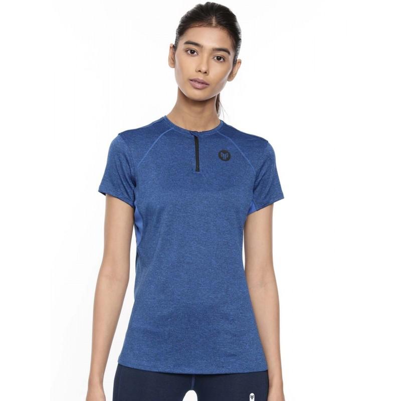 2GO Women Running T-Shirt Sapphire Blue (EL-WTS314-A9)