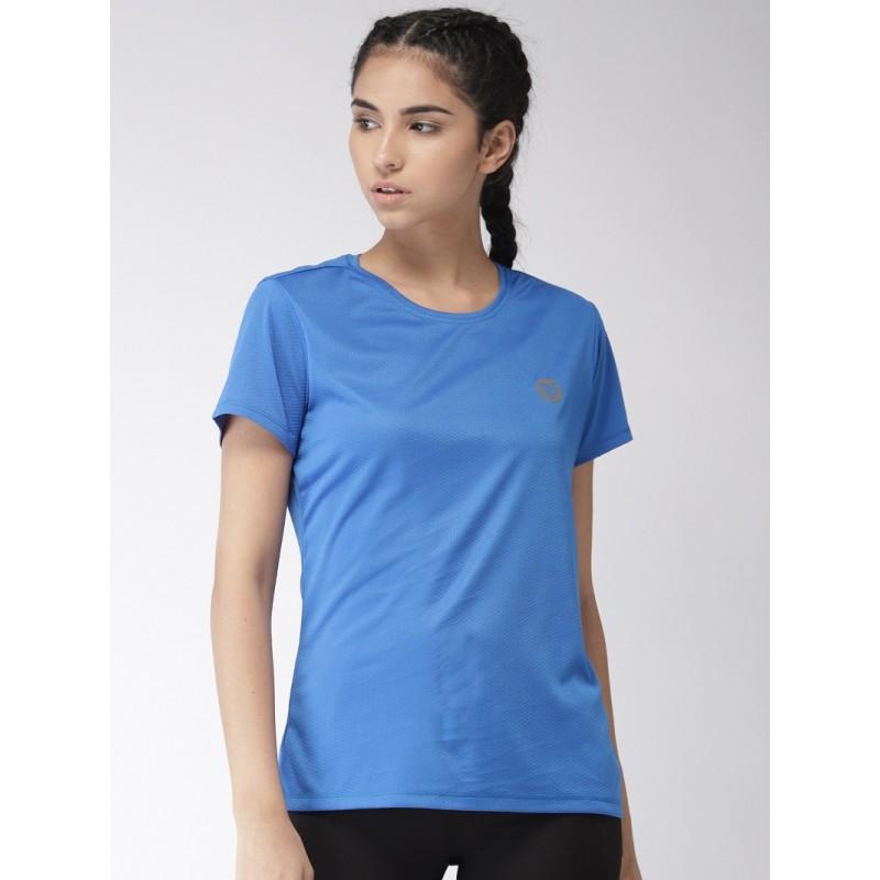 2GO Women Running T-Shirt Sapphire Blue (EL-WTS335-S9)