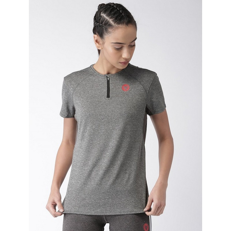 2GO Women Running T-shirt Shark Grey (EL-WTS314-S9)