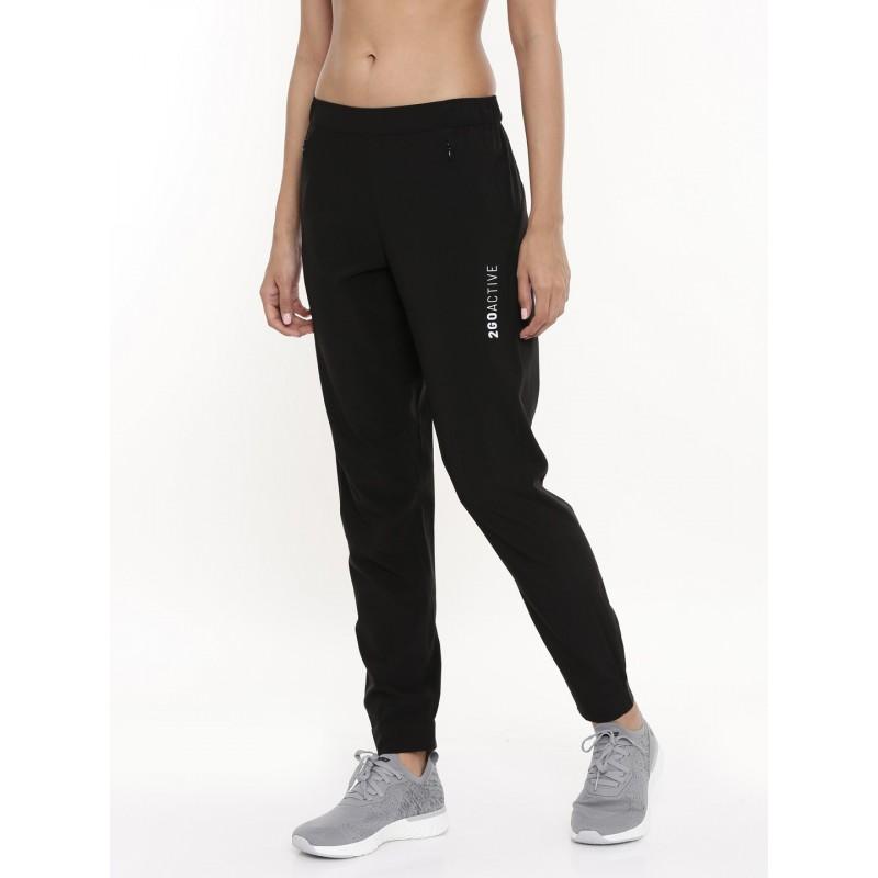 2GO Women Running Track pant Black (EL-WTP445-A9)