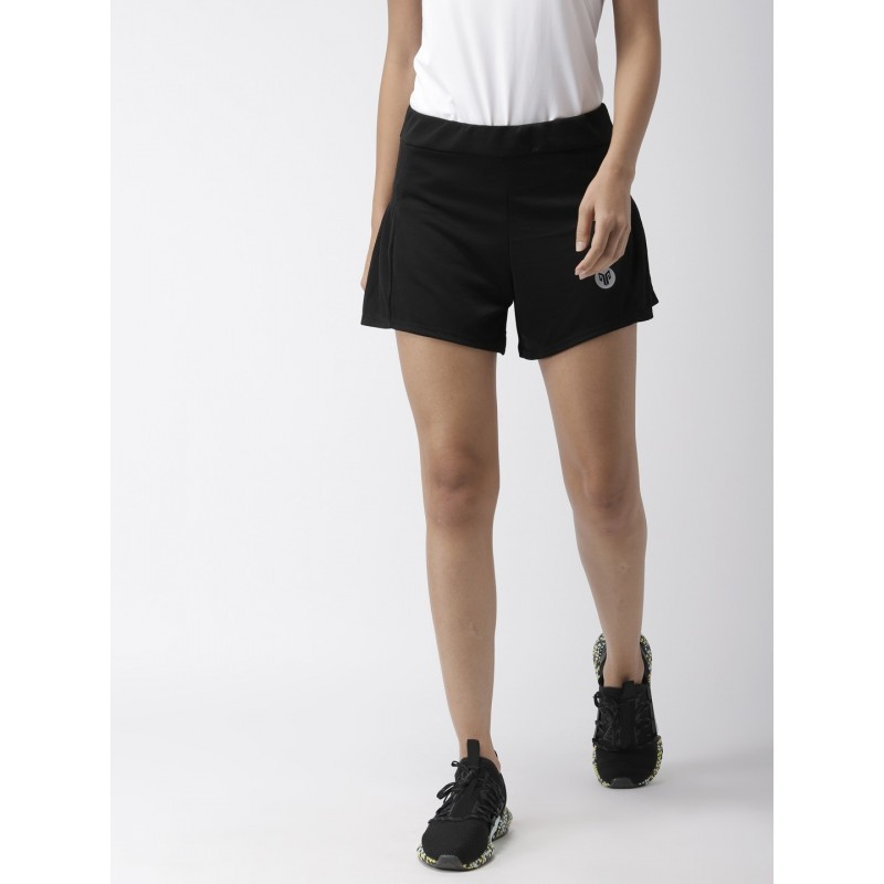 2GO Women Sports Shorts Bold Black (EL-WSH405-S9)