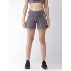 2GO Women Running Shorts Shark Grey  (EL-WSH394-S9)