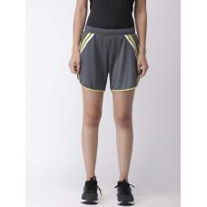 2GO Women Sports Shorts Shark Grey  (EL-WSH395-S9)