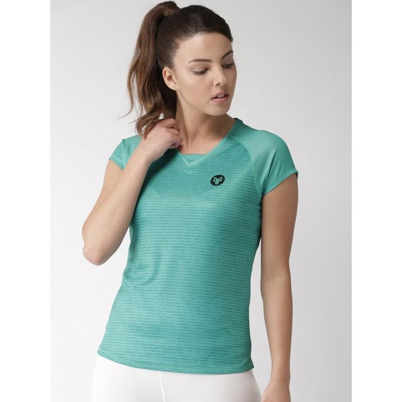 2GO Women Sports T-shirt Aqua (EL-WTS309-S9)